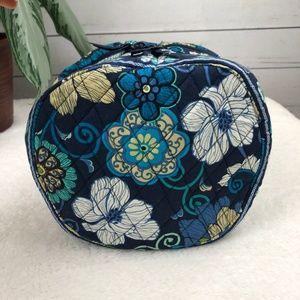 Vera Bradley Bags - NWT Vera Bradley Floral Blue Print Travel Case -S2